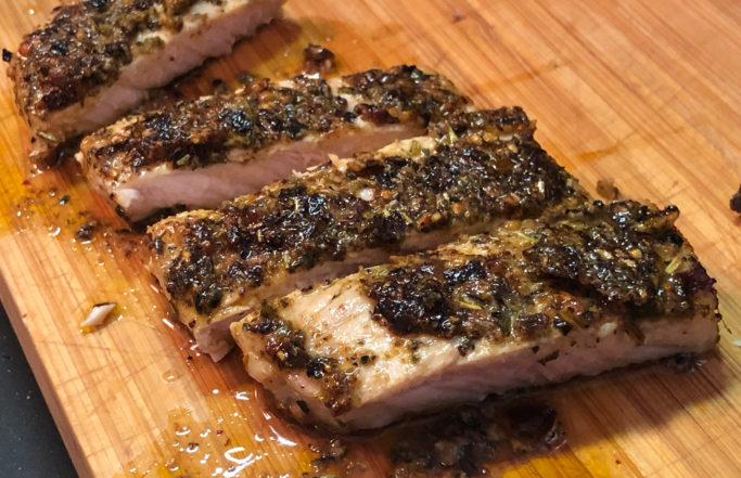 Schweinsnierstück mit BBQ-Rub